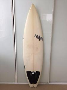 DHD D2 Surfboard 6'1 x 18 ¼ x 2 3/16 Cremorne North Sydney Area Preview