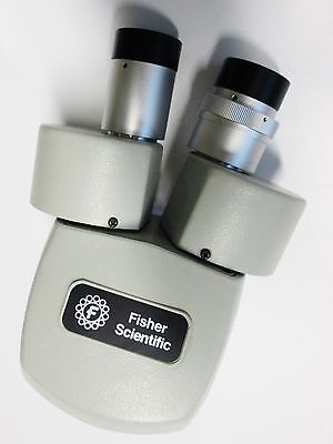 Lot Of 2 Fisher Scientific Stereomaster Ii Spt-ih - Zoom Microscope - Sw15x Eye