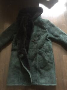 Vintage Suede extremely warm coat