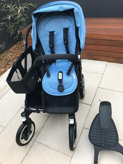 Bugaboo Donkey Mono with wheeled board - excellent condition!