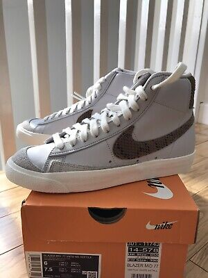 Nike Blazer mid 77 Reptile, Size UK 5 (US6/EU38.5)