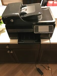 Hp office jet 8500a printer scanner with unopened ink
