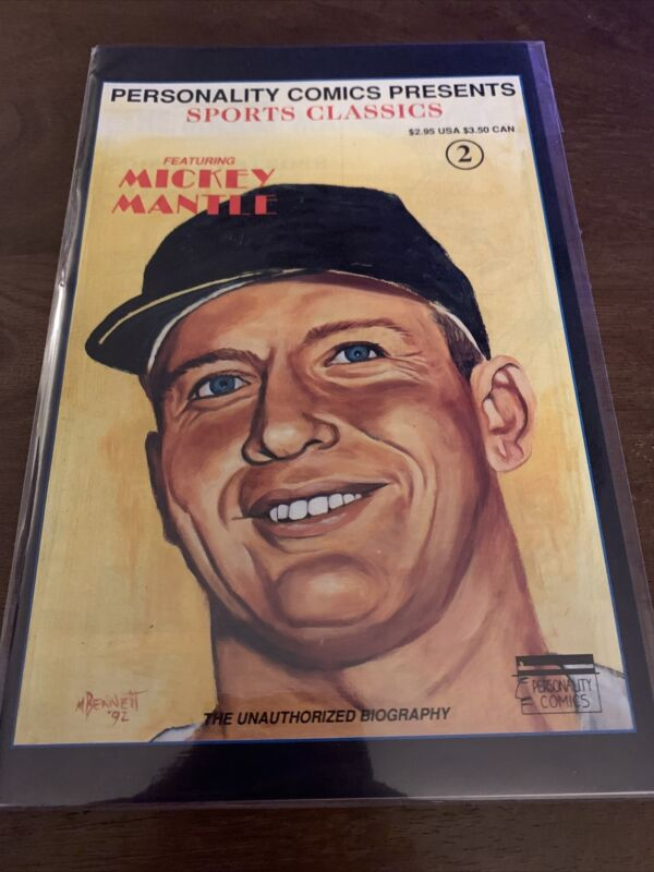 MICKEY MANTLE SPORTS CLASSICS PERSONALITY COMIC BOOK (1992) (E)
