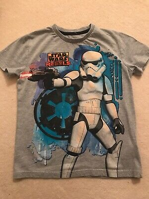Boys Star Wars T-shirt Age 8 Years