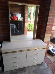 Drawer dressing table with mirror Tuart Hill Stirling Area Preview