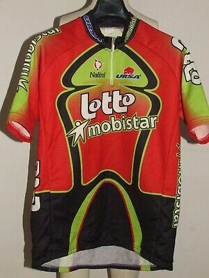 Bike Cycling Jersey Maillot Shirt Cyclism Team Lotto Mobistar Nalini Size XXL
