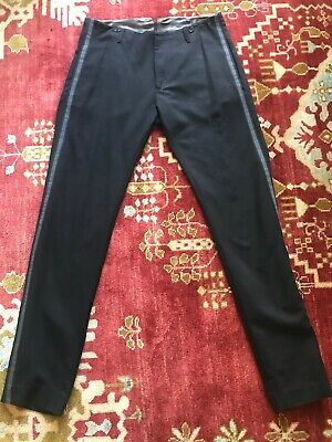 "DIESEL ""Black Gold"" Wool Black Dress Pant, Night Out Weekend Pants size. 32"