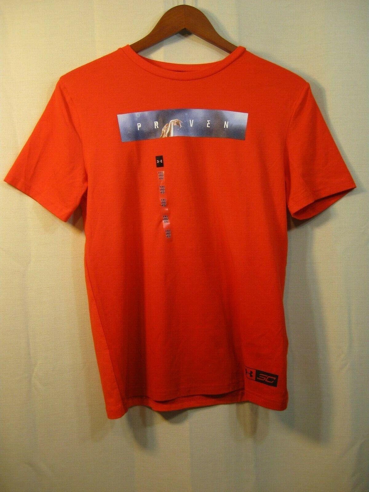 nwt heat gear loose boys youth orange