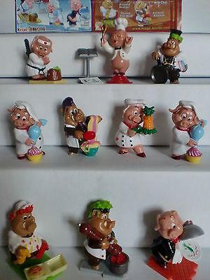 KPS - Figuren > Saustark! - Duell in der Küche  2010 < (D) +  Vari. alle 10 BPZ