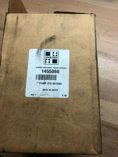 Hyster Electric Forklift Hydraulic Pump Model 1455066 NEW IN BOX