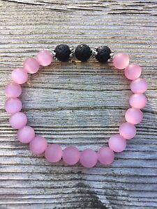 Aromatherapy Essential Oil Bracelets with Lava rock London Ontario image 3
