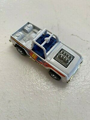 HOT WHEELS BAJA BRUISER White Vintage Truck Car 1973