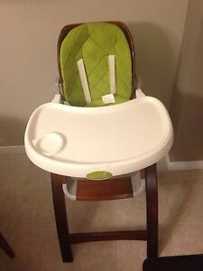 High chair child