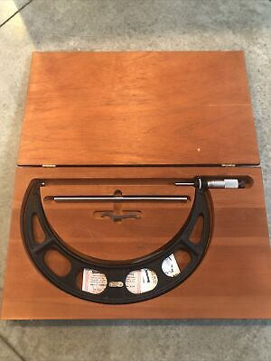 Starrett Metric Micrometer 250mm-275mm No. 436m
