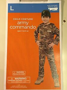 Army commando halloween costume