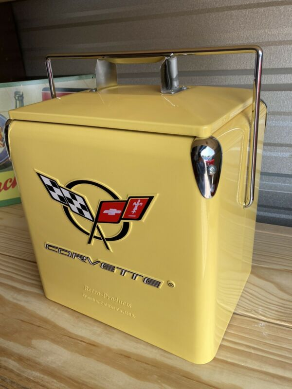 Vintage Cooler Corvette 1950s Style Cooler Coke Pepsi Orange Root beer Nehi