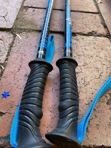 """Composite Construction Ski Poles 48"""" 120 cm Bumps"""