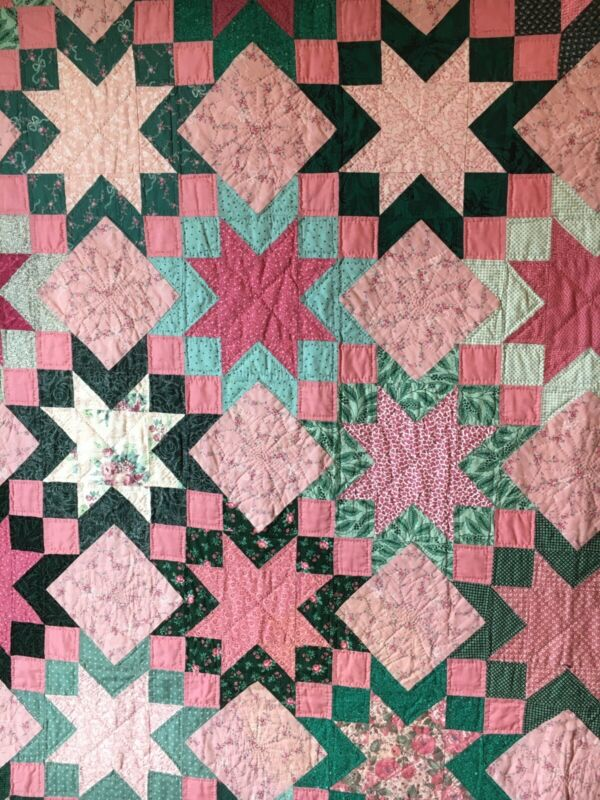 1994 Star quilt with provenance.