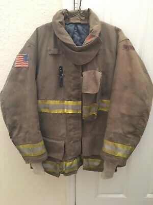 112010 Globe Gxtreme Firefighter Turnout Bunker Coat Jacket 4432