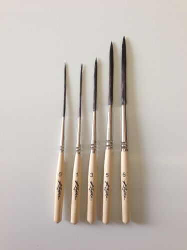 Kafka Signature Series Scroller Striper Pinstriping Brush Choose Size 0-6 OR Set