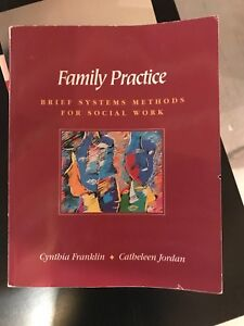 Family practice. Brief systems methods for social work.