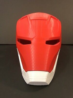 IRON MAN MARK 45 PLASTIC HELMET COSPLAY OPENS UP Costume Suit Adult Armor](Adult Ironman Suit)