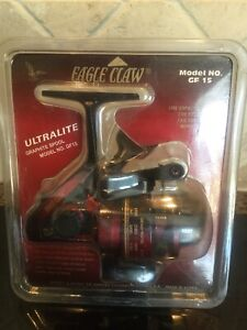 Eagle Claw Ultralite Graphite Spool Fishing spinning reel