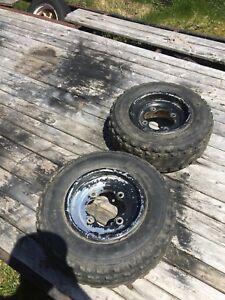 4 sport quad rims and tires
