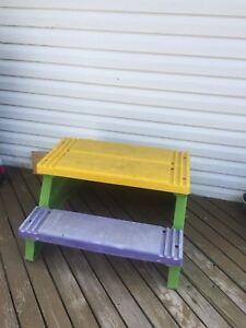 Kids picnic table
