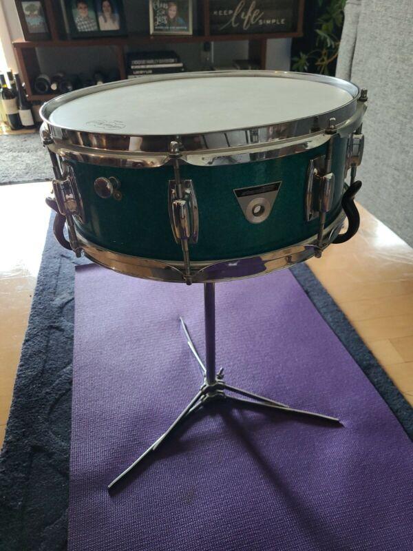 Vintage 1968 ludwig standard snare drum original 3346 serial number Great Shape!