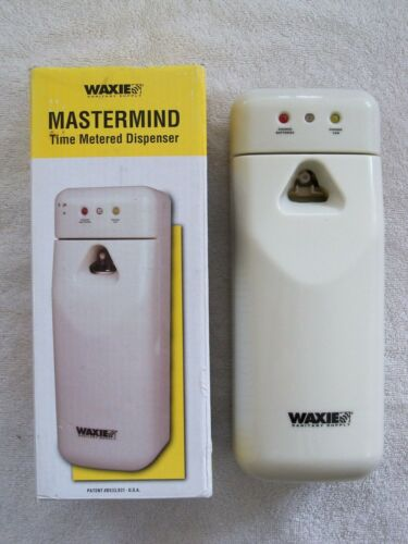 Waxie Mastermind Model IV Time Metered Dispenser Air Freshener - Multi-Modal