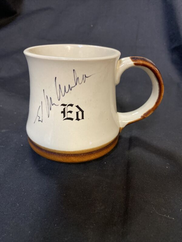 Ed McMahon SIGNED The Tonight Show Original Mug Very Rare!