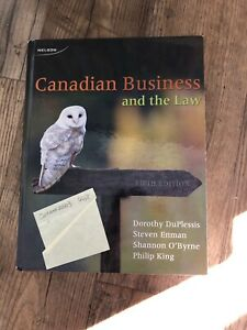 Canadian businesses and the law