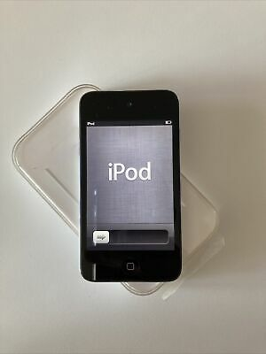 APPLE IPOD TOUCH A1367 4 GENERAZIONE 8 GB FUNZIONANTE MUSIC MUSICA NERO BLACK