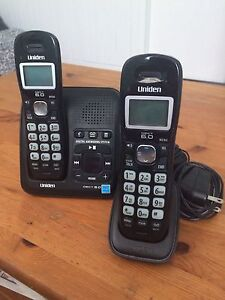 Uniden Cordless Phones + Answering Machine