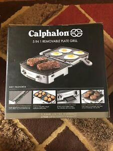 Brand New 5 in 1 Removable Plate Grill
