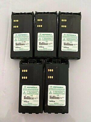**LOT OF 5** Motorola  HNN9010A Ult-Hi Cap NiMH Batteries HT750 HT1250 PR860 Nimh Battery Hi Cap