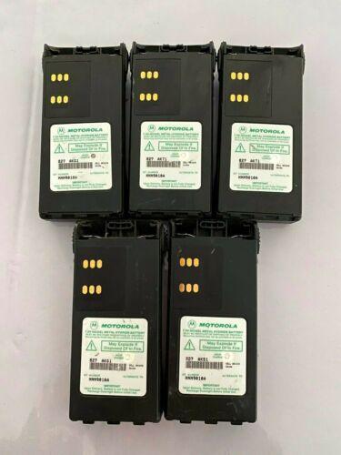 **LOT OF 5** Motorola  HNN9010A Ult-Hi Cap NiMH Batteries HT750 HT1250 PR860