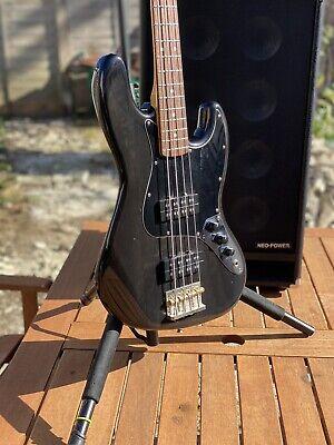 Fender Modern Player Jazz Bass HH Translucent Black 2013 Light Relic segunda mano  Embacar hacia Mexico