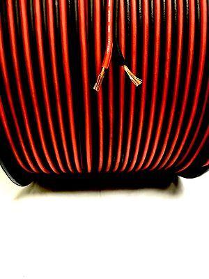 500  Ft True 18 Gauge Awg Red Bk Speaker Wire W  Spool Home Sky High Car Audio
