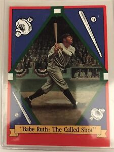 Babe Ruth: The Called Shot baseball card 1992