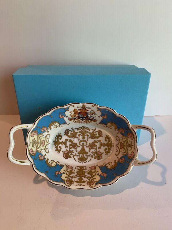 New The Royal Collection 2002 Queen Elizabeth II Golden Jubilee Basket