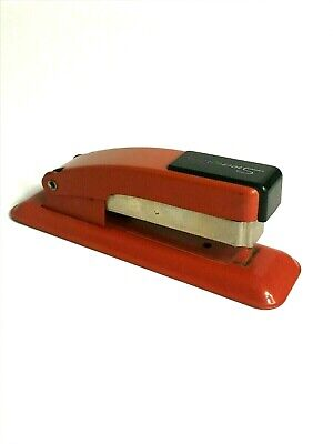 Vintage Mid-century Red Swingline Stapler - Usa