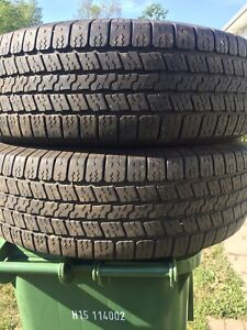 p265/70/17 inch Goodyear Truck Tires / LOTS OF TREAD