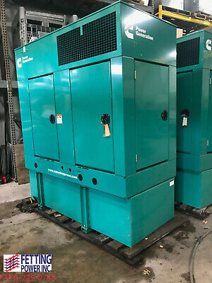 New 35kw Cummins Stationary Diesel Generator Dghcb 120240v 1ph