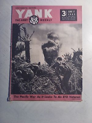 Yank The Army Weekly  Continental Edition  June 17  1945   Pacific War