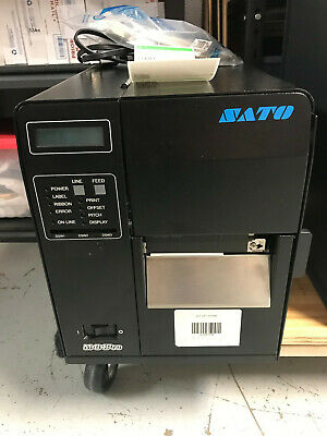Sato M84pro-2 Ex1 Point Of Sale Barcode Thermal Printer - Tested Local Pick Up