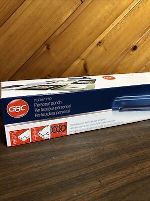Gbc Proclick P50 Desktop Binding Punch Proclick Personal Punch New