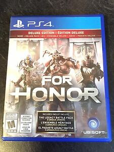For Honor Deluxe Edition $70