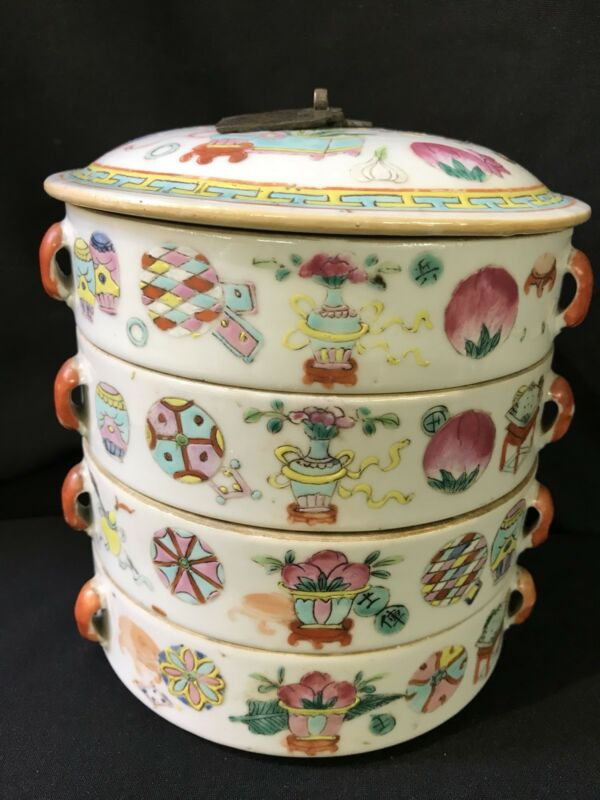 Chinese Porcelain Candy Box